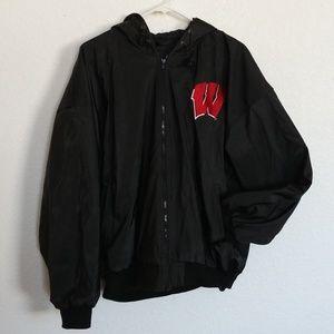 Men's M ~ University of Wisconsin Jacket